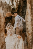 Providence Canyon Elopement // Emiliee + Austin